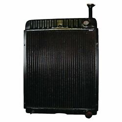New Radiator For Case International Tractor 1066 1086 Others -121723c1 121725c1