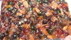 24lbs Low Sugar Holiday Cake Fruit Mix Peel And Fruitsnuts Easterthanksgiving