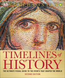 Timelines Of History The Ultimate Visual Guide To The Events That Shaped The Wo