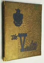 Oklahoma Military Academy 1948 Official Yearbook Vedette History Photo Claremore