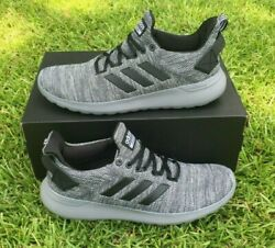 Adidas Menandrsquos Cloudfoam Lite Racer Byd Running Shoes - Gray Pick Size 8.5-13