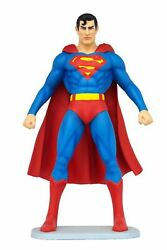 Muscle Man In Blue With Cape Life Size Super Hero Statue