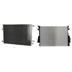 A/c Condenser And Radiator Kit For 08-10 Ford F-250 Super Duty F-350 Super Duty