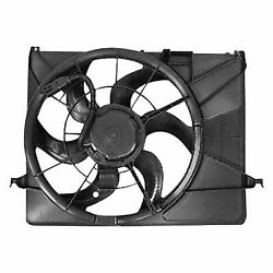 A/c Compressor And Condenser Cooling Fan Radiator Kit For 06-09 Hyundai Azera