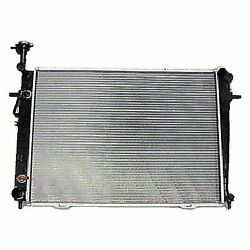 A/c Compressor And Condenser Cooling Fan Radiator Kit For 08-10 Kia Sportage