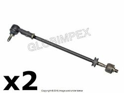 Porsche 944 968 And03987-and03995 Front L And R Tie Rod Set Of 2 Aftermarket + Warranty