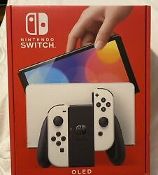 Nintendo Switch Oled White Console Brand New Sealed Pre Order Guaranteed