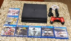 Ps4 Pro 1tb Console Bundle With 1 Oem Controller And 7 Games Tested Working