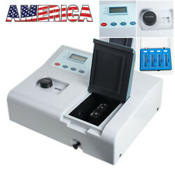 Visible Spectrophotometer 721 Lcd Digital Lab 350-1020nm Tungsten Lamp Lab Equip
