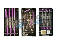 Spinal Lumbar Fusion Cage Tlif Instruments Set Surgical Instrument