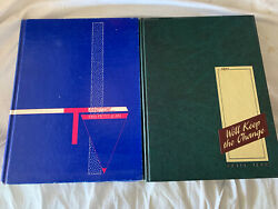 1988 And 1989 Harding University Searcy Arkansas Yearbook Annuals