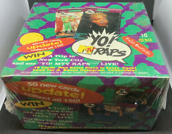 1991 Pro Set Yo Mtv Raps And Update Factory Sealed Box With 36 Packs 4