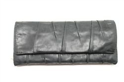 HOBO THE ORIGINAL Black Leather Trifold Wallet $29.00
