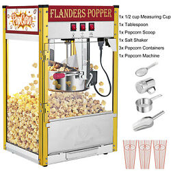 Antique Style Electric Popcorn Maker Machine Pop Corn Making Theater Party Home