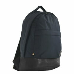 Paul Smith Backpack Mens Navy Commuting To Work School M1a5730 Plain Nylon 47