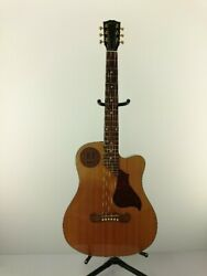 Secondhand Gibson Eco/natural Wood Grain/6 String/9v Battery X1/traveling