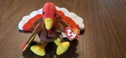Ty Beanie Babies Gobbles Turkey -extremely Rare With Errors