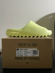 Adidas Yeezy Slide Glow Green Size 9 And 11 Brand New Deadstock Ds Dswt 2021