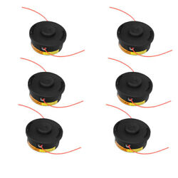 6 Pack Trimmer Head For Stihl Autocut 25-2 Trimmer Bump Heads String Trimmers
