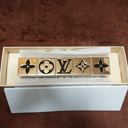 Louis Vuitton 2011 Vip Gift Limited Christmas Novelty Authentic Cube Dice Game