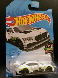 2018 Bently Continental Gt3 White 133/250 Hw Race Day 7/10