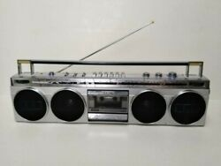 Vintage And Ultra Rare Sanyo M-7830k Stereo Boombox Ghettoblaster