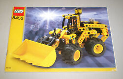 Used Lego Technic Instruction Book Only 8453 Front End Loader No Legos Include