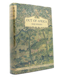 Isak Dinesen Out Of Africa 1st Edition 1st Printing