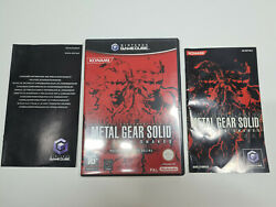 Nintendo Gamecube Metal Gear Solid The Twin Snakes Complet Boite Notice Vf Dispo