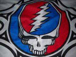 Grateful Dead Syf Steal Your Face Bicycle Racing Biker Jersey Bib Ride 7b-l-new