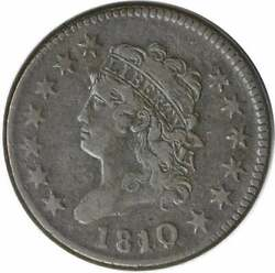 1810/09 Large Cent Vf Uncertified 306