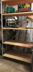 Backroom Shelving Meg 18 X 8and039 And 10and039 Lot 30 Wood Shelves Used Store Fixtures