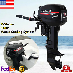 2-stroke Outboard Motor Engine Fishing Boat Cdi Water Cooling System 18hp 13.2kw