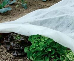 Heavy Floating Row Cover Garden Fabric Plant Cover Outdoor Frost Protection Blan