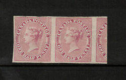 Canada 8 Very Fine Mint Pair Showing Next Stamp At Right With Certificate