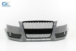 Audi A5 Front Bumper Cover W/ Grille And Fog Light Lamp Oem 2008 - 2011 💠-damage-