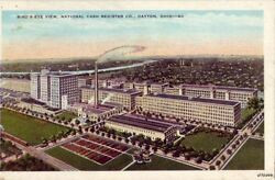 Dayton, Oh Bird's-eye View National Cash Register Co. Wilkie News Co, Publ.