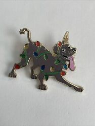 Disney Dante Dog Tangled In Lights Christmas Le 300 Ap Pin Dsf Dssh Coco A5
