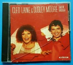 Cleo Laine And Dudley Moore Smilinand039 Through 1982 Rca Vocal Piano Jazz Cd 18wb2