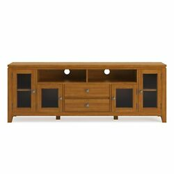 Cosmopolitan Solid Wood 72 In Wide Tv Media Stand And For Tvs Up To 80 Inches