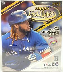 2021 Topps Gold Label Factory Sealed Hobby Box