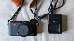 Leica Cl 24 Mp Digital Camera - Black Anodized With 18 Mm Lens