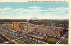 Factory Of The National Cash Register Co., Dayton, Oh