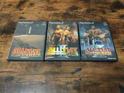 All Star Pro-wrestling 1 2 3 Sony Playstation2 / Ps2 Square Japanese