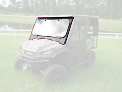 Steel Folddown Windshield Only 16-20 For Honda Pioneer Sxs 1000 3 5 Seat Cab Enc
