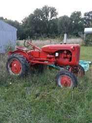 Allis Chalmers B Tractor 1951 With Cultivators---lost Place To Store Must Sell