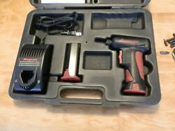 Snap On Cordless Screwdriver Ct5561 W/charger,case,extra Battery,manual,w/extras