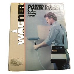 Wagner Power Roller Cordless Painting Pump System Model 0156030 New Complete