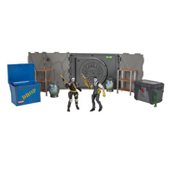 Fortnite The Vault Midas And Julesshadow Deluxe Diorama 4 Action Figure Sep.1
