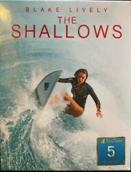 OOP BLACK BARONS #5 THE SHALLOWS FullSlip Booklet Collector#x27; Cards Steelbook
